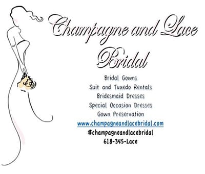 champagne and lace bridal collinsville il