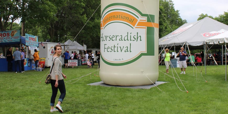 international horseradish festival events collinsville il