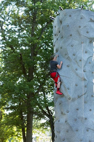 international horseradish festival climbing wall collinsville il