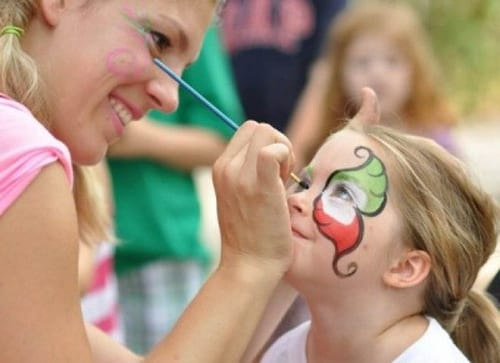 international horseradish festival face painting collinsville il