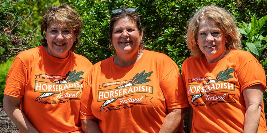 international horseradish festival volunteer work collinsville il